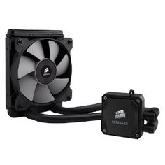 Corsair Hydro Series High Performance Liquid CPU Cooler H60 Upgrade from your stock CPU fan or bulky air cooler to the efficiency and simplicity of liquid...