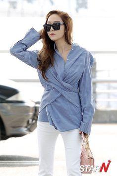 Jessica on Incheon Airport , Korea <3  Fashion queen :))  #jessica #jessicajung #jung #jungsister #sica #sicachu ^-^ #jessie #jess #snsd #girlsgeneration #gg #soshi #soshistar #taeyeon #yuri #hyoyeon #yoona #sooyoung #seohyun #tiffany #yahoo #phantasia