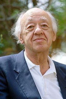 Eugène Ionesco (born Eugen Ionescu, Romanian: [e. 26 November 1909 – 28 March was a Romanian playwright who wrote mostly in French, and one of the foremost figures of the French Avant-garde theatre. Contemporary Theatre, Eugene Ionesco, Theatre Of The Absurd, Book Writer, Book Authors, People Of Interest, Playwright, Special People, Belle Photo
