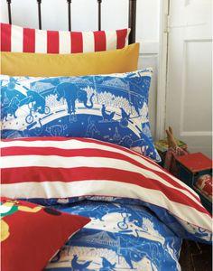 Fun Circus Bedding