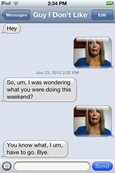 How to get rid of someone you don't want to talk to. Thank you, Jenna Marbles!