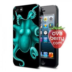 Turquoise Octopus iPhone and Samsung Galaxy Phone Case