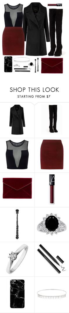 """""""6"""" by tttlsp ❤ liked on Polyvore featuring Nly Shoes, Varley, Dorothy Perkins, Rebecca Minkoff, NARS Cosmetics, Simone Rocha, Harper & Blake and Suzanne Kalan"""