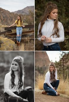 senior homecoming Bend, Oregon high school senior pictures at Smith Rock by Eugene senior portrait photographer, Holli True Senior Portraits Girl, Photography Senior Pictures, Senior Girl Poses, Senior Portrait Photography, Photography Poses Women, Girl Photography Poses, Photography Ideas For Teens, Senior Picture Poses, Senior Posing