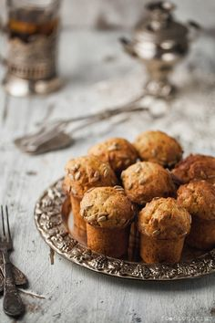 Carrot Muffins with Sunflower Seeds | Foodienarium