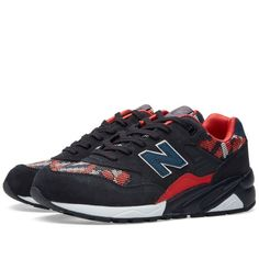 New Balance WRT580PW (Navy & Red)
