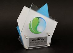 Nuflow Custom Design Trophy by Potato Press