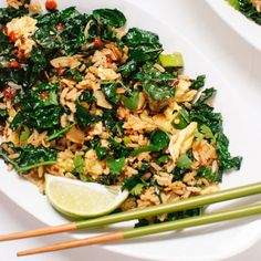 Spicy Kale and Coconut Stir Fry