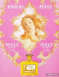 Emilio Pucci (Perfumes) 1981