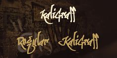 Download kaliGraff Font Family · Free for personal use · Includes kaliGraff Regular, Kaligraff ·