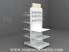 clothing display racks with Acrylic and customized size