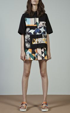 MSGM Trunkshow Look 1 on Moda Operandi