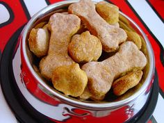 Lick The Bowl Good: Stinky Girl - Stinky Cookies Carrot & Cheese Dog Treats Sweet Potato Biscuits, Dog Biscuits, Dog Treat Recipes, Dog Food Recipes, Cheese Dog, Puppy Treats, Dog Cookies, Homemade Dog Treats, Favorite Recipes