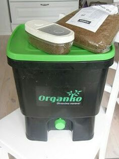 Bokashi jätteet multa kompostointi nopea sisällä hajuton