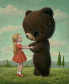 Mark Ryden - Illustration - PopSurrealism - Goodbye