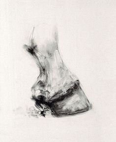 """The Hoof"" Lydia Kieran. Great expressive texture love the dramatic value Horse Drawings, Pencil Art Drawings, Animal Drawings, Drawing Art, Animal Sketches, Art Sketches, Bull Painting, Horse Sketch, Watercolor Horse"