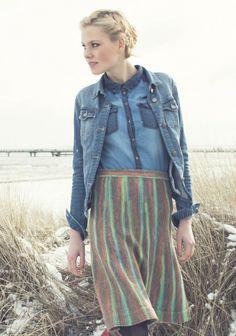 Neulottu hame SK 2/124. Knits, Fashion, Moda, La Mode, Breien, Fasion, Knit Patterns, Knitting, Crochet