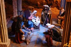 2016-12-22-4087-d50-1600& Nativity, Miniatures, Painting, The World, Clay Figures, Green Paintings, Hand Painted Rocks, Wood Pictures, Miniature Houses