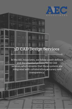 At the AEC Associates, we follow a well-defined and documented process for 3D CAD services,which ensures that these systems are integrated with collaboration, accuracy and transparency.