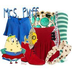 Poppy Puff from SpongeBob SquarePants Spongebob Halloween, Halloween 2020, Badass Halloween Costumes, Cartoon Outfits, Fandom Fashion, Casual Cosplay, Spongebob Squarepants, Fashion Outfits, Fashion Women
