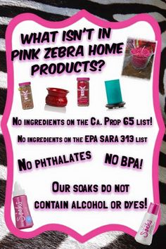 No No Not Pink Zebra https://www.pinkzebrahome.com/ziannassprinkles