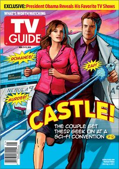 Castle - TV Show all time favorite love this tv guide cover too : )