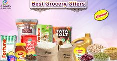 ezeelo offer huge Discount & saving on all Grocery (Kirana) products online with free home delivery for Kanpur at ezeelo.com. #grocery #kirana #offers #discounts #kanpur #ezeelo