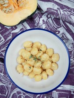 Gnocchi are perfect comfort food and these acorn squash gnocchi are some of the…
