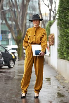 Parisienne: Medium-Brim Hat