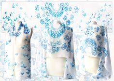 Wedding Silk Scarf - for sale by MinkuLul.deviantart.com on @deviantART