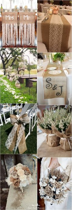 55 Chic-Rustic Burlap and Lace Wedding Ideas Rustic Wedding Reception, Farm Wedding, Wedding Table, Diy Wedding, Wedding Gifts, Wedding Cakes, Wedding Ideas, Trendy Wedding, Dream Wedding