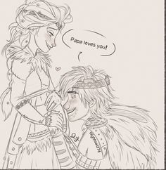I'm gonna pretend that's Astrid and NOT Elsa.