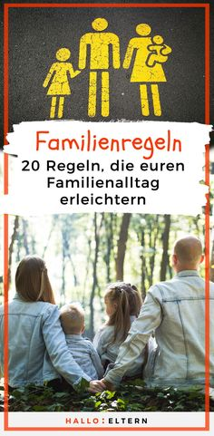 Familienregeln können euren Familienalltag erleichtern Everyday family life is sometimes quite turbulent and chaotic. With family rules you can bring Family Rules, Family Life, Pb Teen, Baby Kind, Get Excited, Women Life, Wedding Humor, Ways To Save, Kids And Parenting