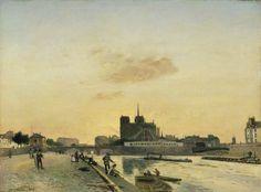 Johan Barthold Jongkind - View of Notre-Dame, Paris