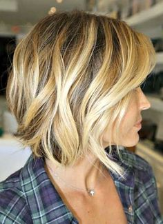 Wavy Bob New Trendy Short Hairstyles