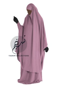 "2 pcs jilbab ""Hanifah"" with skirt"