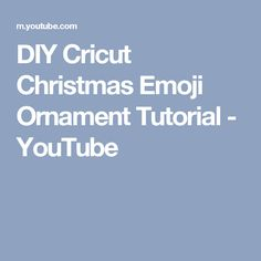 DIY Cricut Christmas