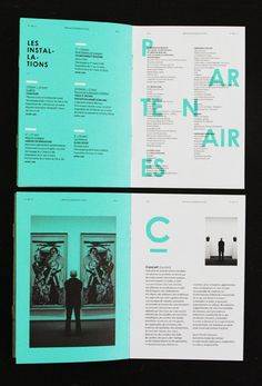 Les Graphiquants – Biennale Musique en Scene 2012: identity & collateral design