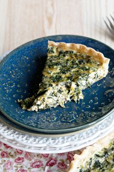 When Breakfast Saves Dinner {Recipe: Simple Spinach Quiche}