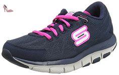 Skechers Liv Go Spacey, Chaussures Multisport Outdoor femme, Bleu (Navy/Pink), 36.5 - Chaussures skechers (*Partner-Link)