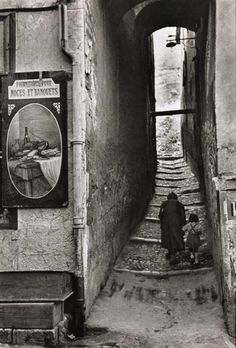 Briançon, France. 1952.  Photographer: Henri Cartier-Bresson