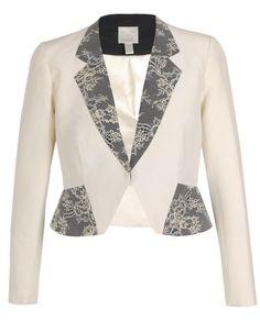 HUISHAN ZHANG | Angular Silk-cotton Twill Jacket