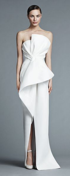J Mendel #white #dress #bridal