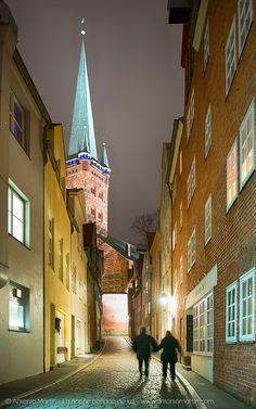 Noche en Lübeck
