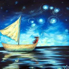 """Spinning Stars – Matariki"" by Ira Mitchell Matariki is the Maori New year and revolves around the Pleaides....our family."