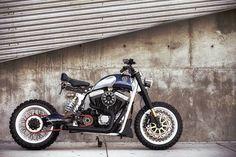 "Harley-Davidson Sportster с чертами кафе-рейсера и трекера - Журнал ""МОТО"" - МОТО-MAGAZINE - За Рулем"