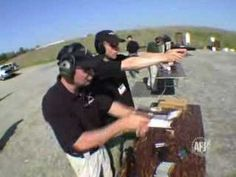 IPSC(International Practical Shooting Confederation) champion teaches how to properly grip a handgun and shoot accurately.