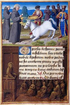 The Morgan Library & Museum Online Exhibitions - Hours of Henry VIII - St. Anthony of Padua