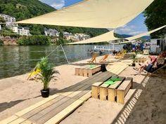Eröffnung Strandbar am Neckarlauer Beach Party, Patio, Outdoor Decor, Holiday, Home Decor, New Start, Addiction, Vacation, Summer
