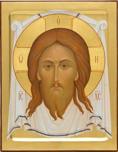 Icons of the Image of Christ Not-Made-By-Hands    See all 27 Icons: https://catalog.obitel-minsk.com/icons-prav/feast-day-icons.html    #CatalofOfGoodDeeds #OrthodoxIcons #Christ #Iconography #Orthodoxy
